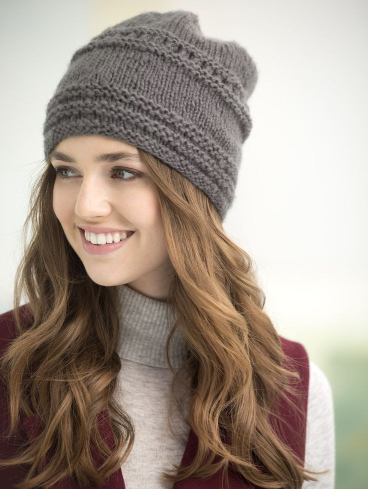 Hat knitting patterns will help you to knit a stylish hat