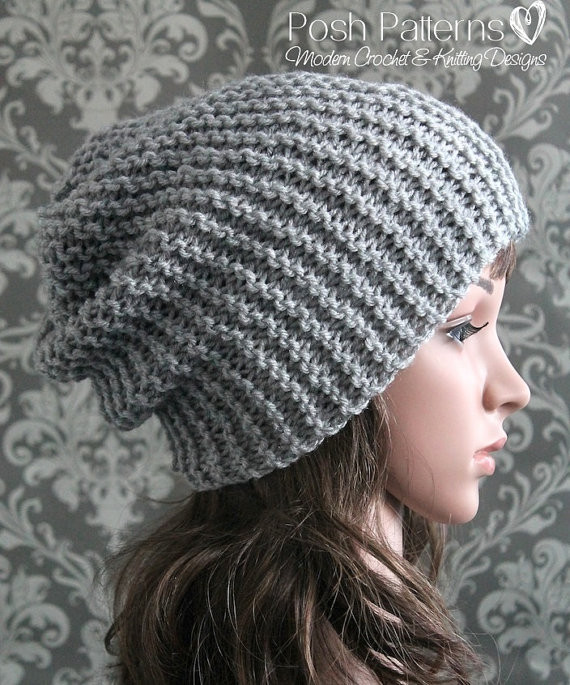 free easy knitting patterns for beginners hats