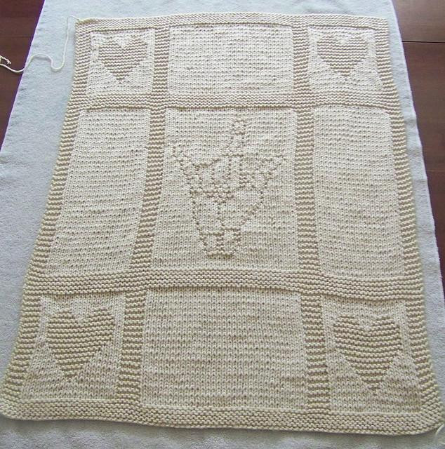 Free Knitted Baby Afghan Patterns Beautiful I Love You Baby Blanket Knit Pattern Of Superb 43 Pics Free Knitted Baby Afghan Patterns