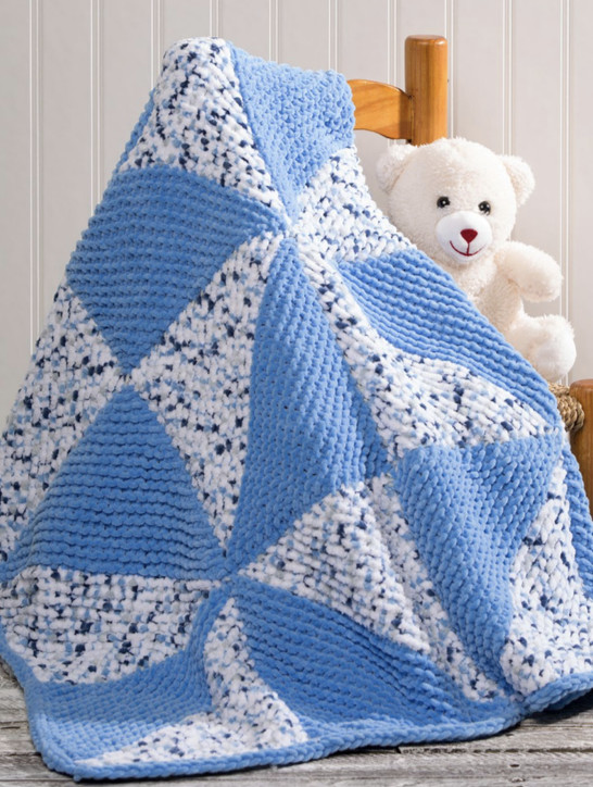 Free Knitted Baby Afghan Patterns Unique Pinwheel Baby Blanket Free Knitting Pattern Download Of Superb 43 Pics Free Knitted Baby Afghan Patterns