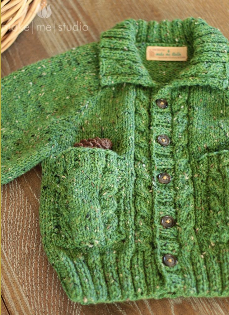 Jaeger George Cardigan Beautiful free knitting pattern