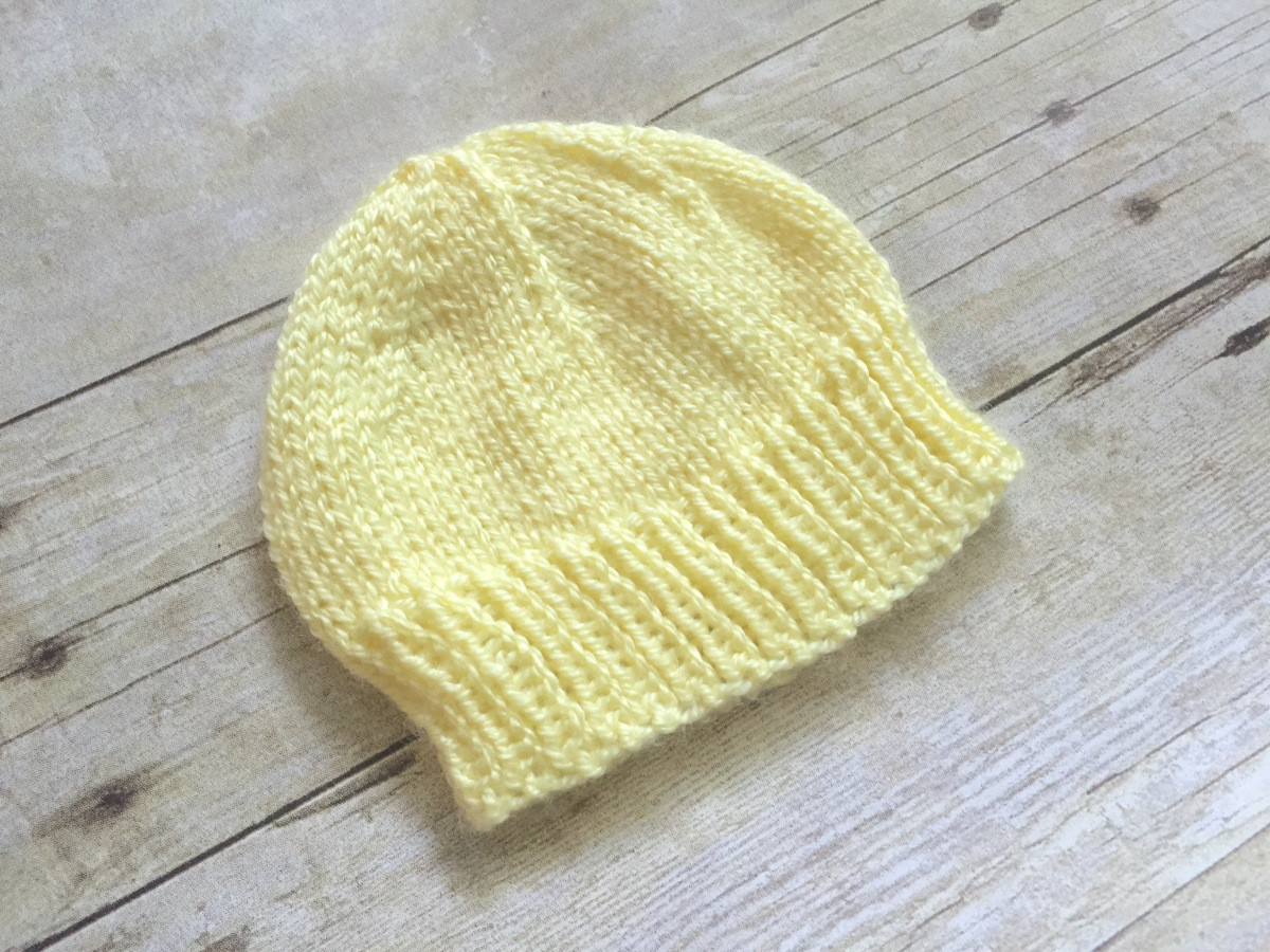 Free Knitting Patterns for Baby Hats Awesome Newborn Baby Hat to Knit – Free Knitting Pattern – Swanjay Of Perfect 44 Models Free Knitting Patterns for Baby Hats