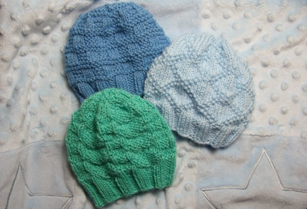 Free Knitting Patterns for Baby Hats Fresh Textured Baby Hats for Straight Needles Baby Clothing Of Perfect 44 Models Free Knitting Patterns for Baby Hats