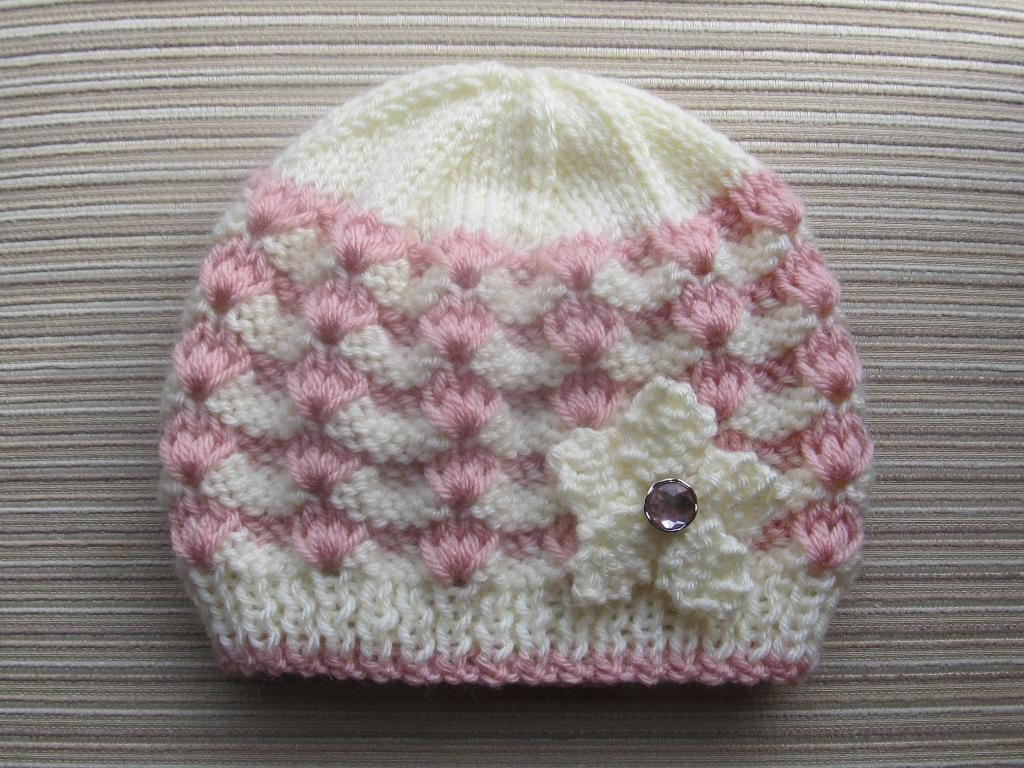 Free Knitting Patterns for Baby Hats Unique Baby Hat Knitting Patterns Straight Needles Of Perfect 44 Models Free Knitting Patterns for Baby Hats