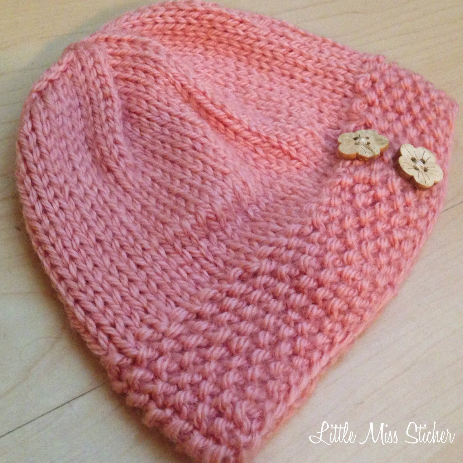 Free Knitting Patterns for Baby Hats Unique Little Miss Stitcher Bitty Beanie Free Knit Pattern Of Perfect 44 Models Free Knitting Patterns for Baby Hats