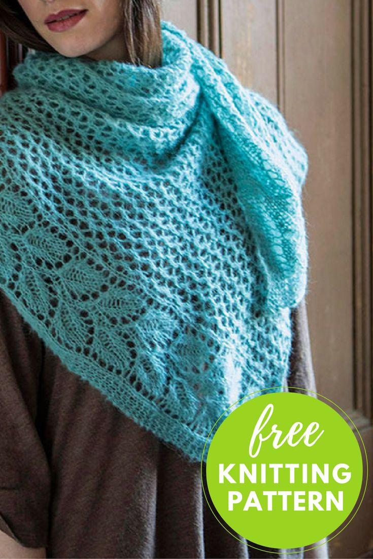 98 best images about Knitted Shawl Patterns on Pinterest