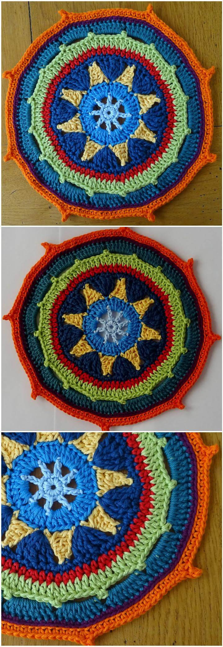 Free Mandala Crochet Patterns Awesome 60 Free Crochet Mandala Patterns Diy & Crafts Of Innovative 45 Models Free Mandala Crochet Patterns