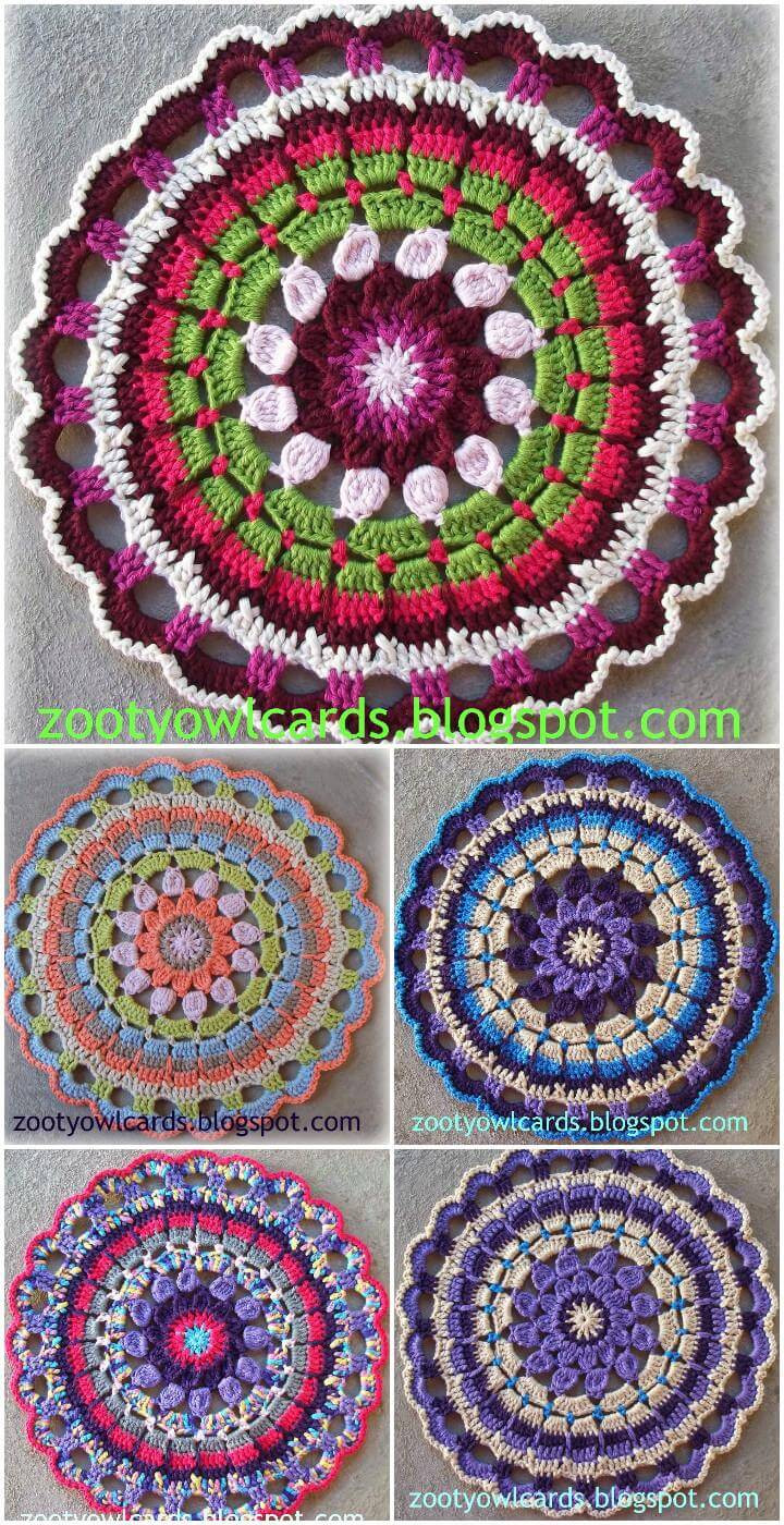 Free Mandala Crochet Patterns Beautiful 60 Free Crochet Mandala Patterns Page 8 Of 12 Diy Of Innovative 45 Models Free Mandala Crochet Patterns