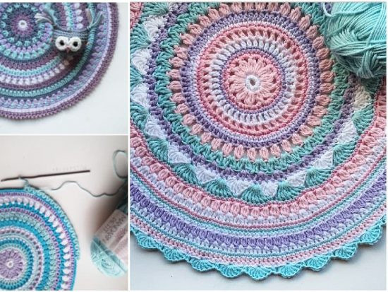 Free Mandala Crochet Patterns Best Of Crochet Mandala Rug Pattern Artistic Diy Ideas Video Tutorial Of Innovative 45 Models Free Mandala Crochet Patterns