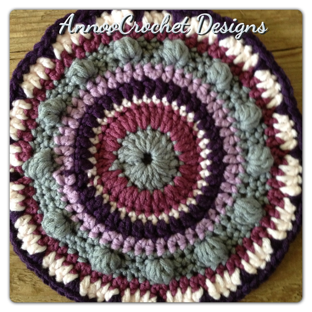 Annoo s Crochet World Mandala Free Pattern