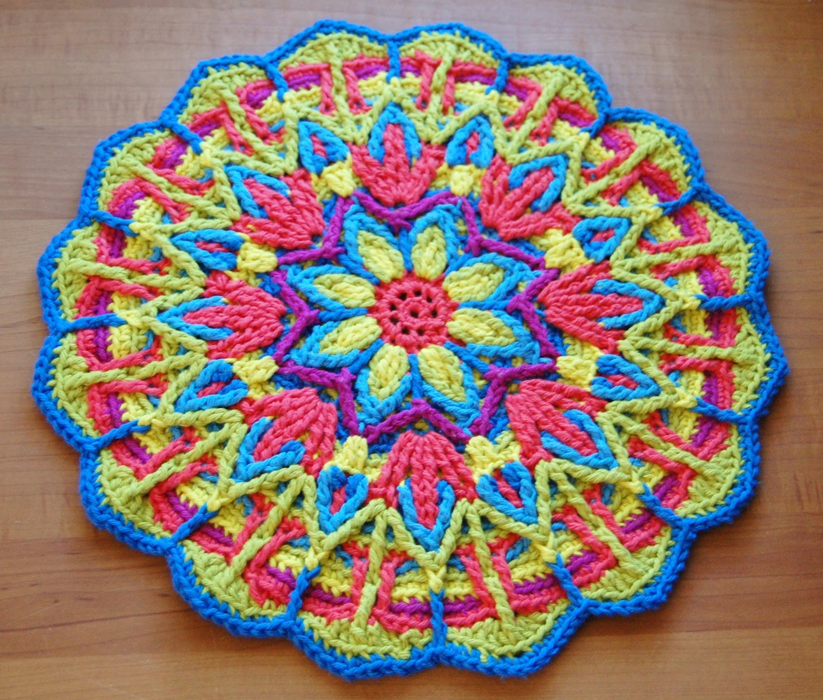 Free Mandala Crochet Patterns New Overlay Crochet Mandala Cal Of Innovative 45 Models Free Mandala Crochet Patterns