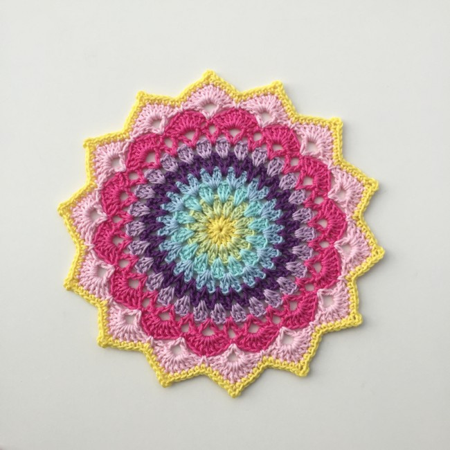Free Mandala Crochet Patterns New Pinteresting Projects Free Crochet Mandala Patterns Of Innovative 45 Models Free Mandala Crochet Patterns