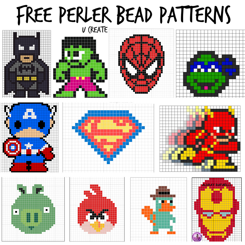 Free Patterns Awesome Free Perler Bead Patterns for Kids U Create Of Unique 49 Photos Free Patterns