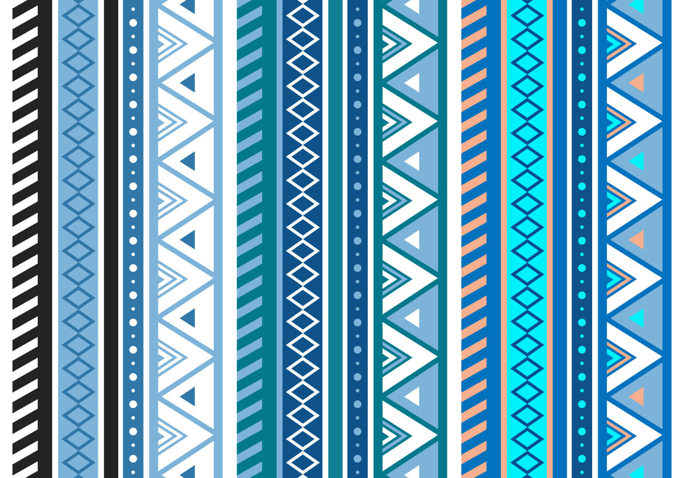 Free Patterns Fresh Free Blue Aztec Geometric Seamless Vector Pattern Of Unique 49 Photos Free Patterns