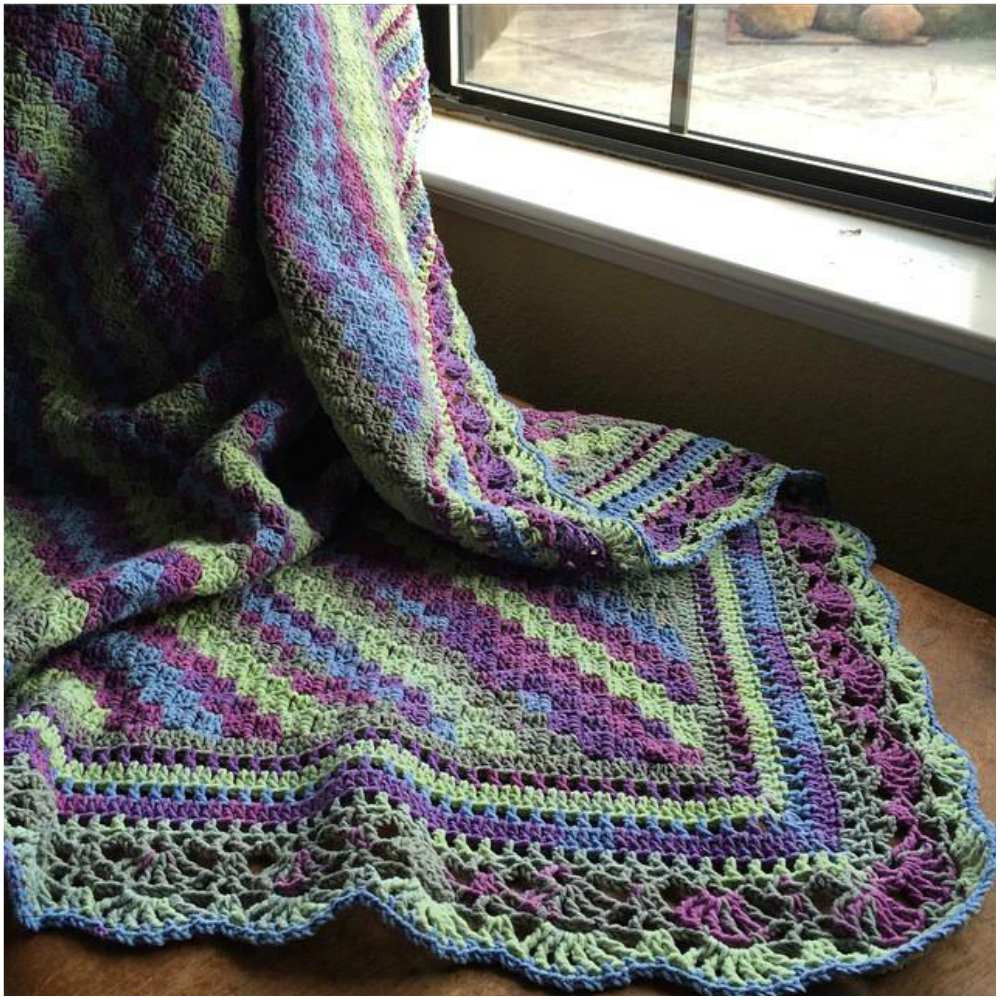 Free Patterns New How to Crochet Blanket with Fabulous Edge [free Pattern] Of Unique 49 Photos Free Patterns