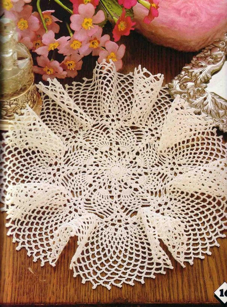 Free Pineapple Crochet Patterns New 1000 Images About Crochet Doilies On Pinterest Of Perfect 46 Pictures Free Pineapple Crochet Patterns