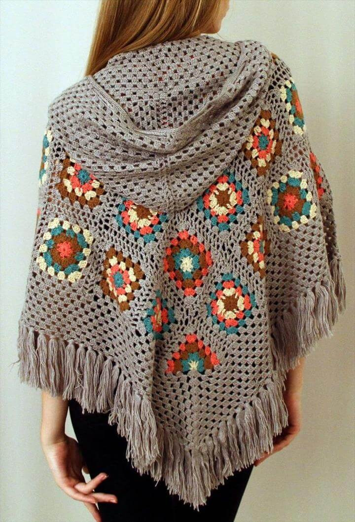 Free Poncho Patterns Fresh 16 Diy Ideas About Crochet Hooded Cap & Shawl Of Marvelous 41 Models Free Poncho Patterns