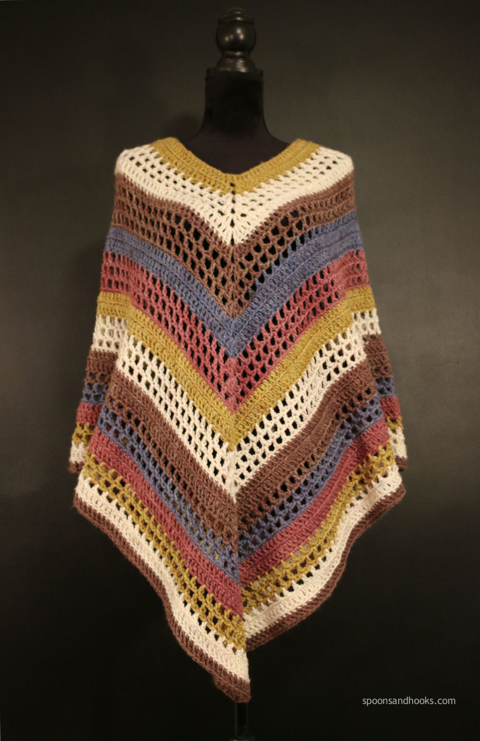 Free Poncho Patterns Inspirational Free Crochet Pattern the Easiest Poncho You'll Ever Make Of Marvelous 41 Models Free Poncho Patterns