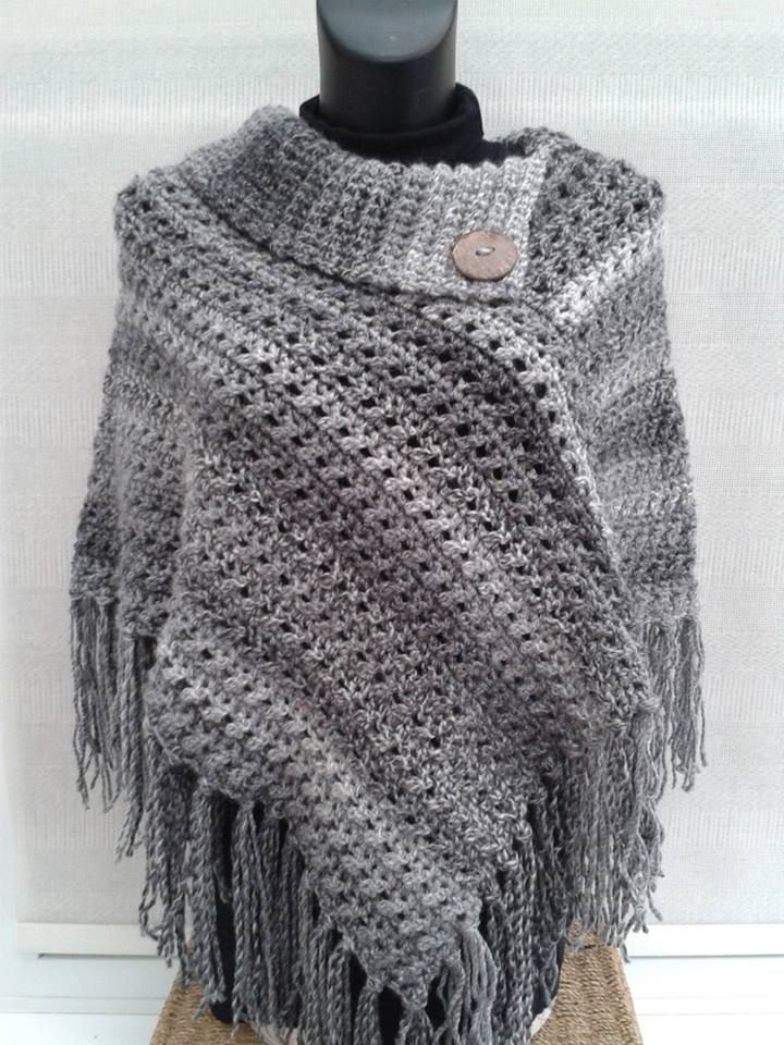Free Poncho Patterns Unique Crocheted Poncho From theroominmyhead Of Marvelous 41 Models Free Poncho Patterns
