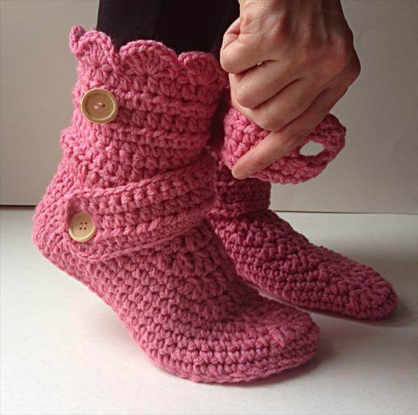 Free Slipper Patterns Awesome Women S Crochet Pink Slippers Of Luxury 50 Ideas Free Slipper Patterns