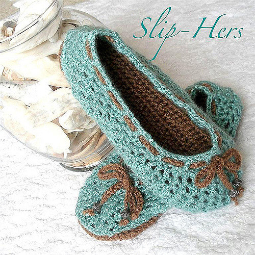 chunky crochet free pattern slipper
