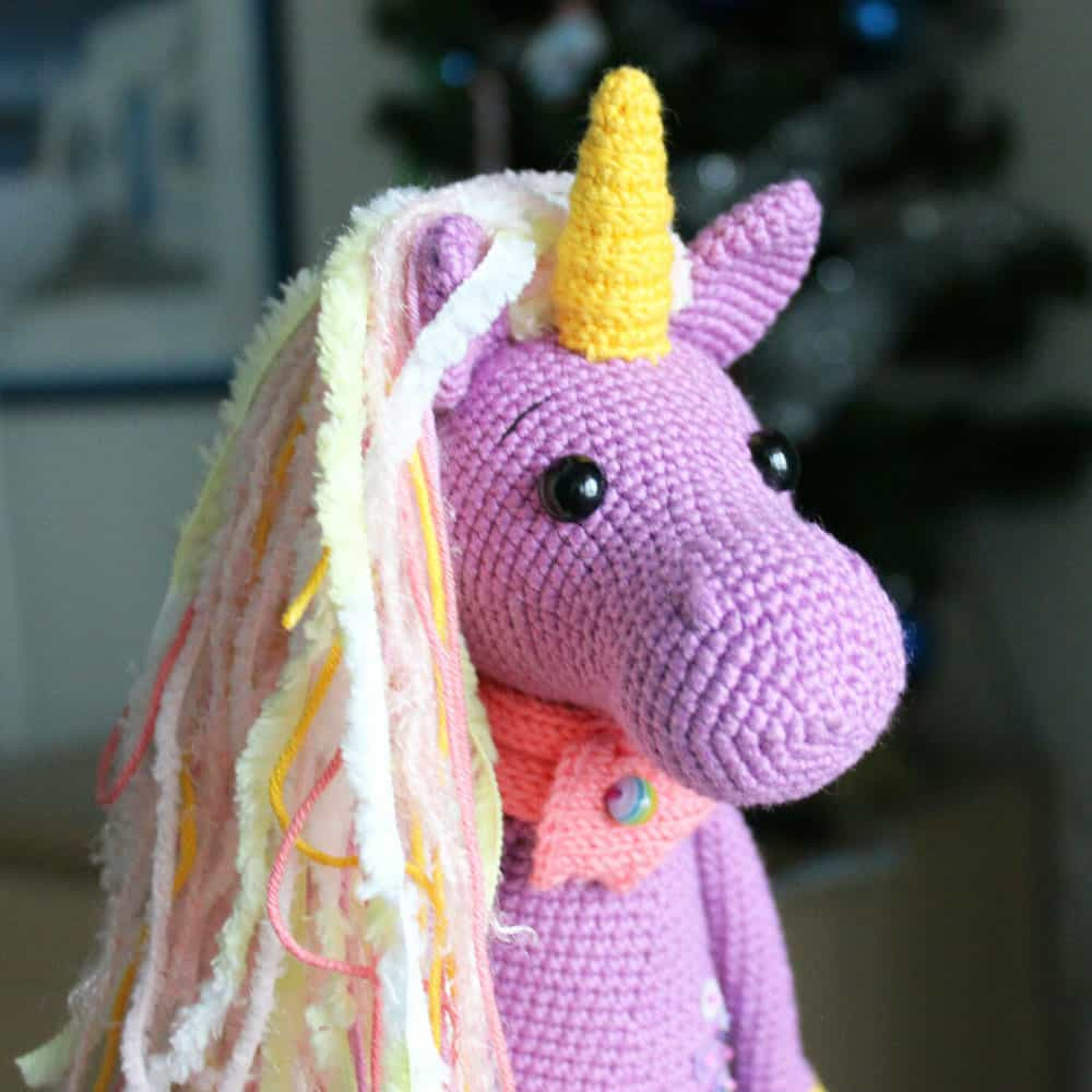 Free Unicorn Crochet Pattern Awesome Shy Unicorn Amigurumi Pattern Amigurumi today Of Free Unicorn Crochet Pattern Unique Dada Neon Crochet Tiny Rainbow Unicorn Amigurumi by
