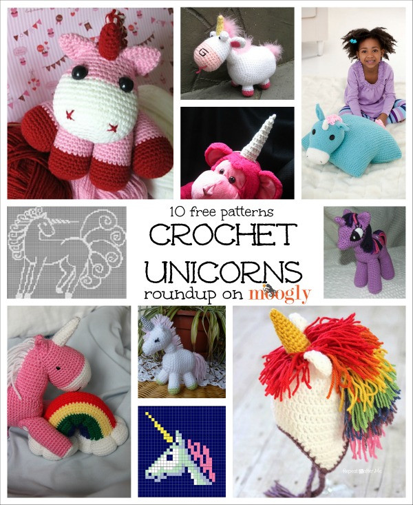 Free Unicorn Crochet Pattern Beautiful Crochet is Magic 10 Free Crochet Unicorn Patterns Moogly Of Free Unicorn Crochet Pattern Beautiful Unicorn Crochet Pattern the Best Collection