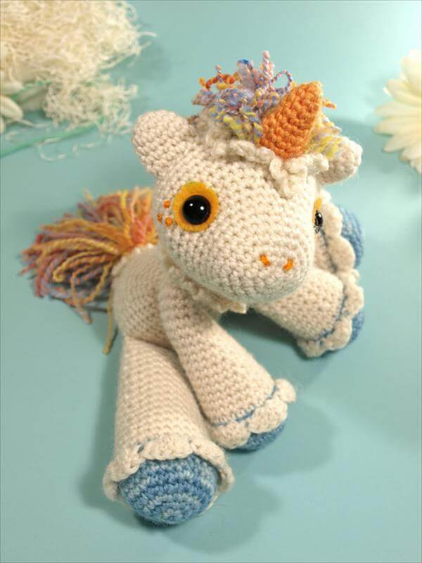 Free Unicorn Crochet Pattern Best Of Beautiful Crochet Unicorn Pattern Just Free Of Free Unicorn Crochet Pattern Unique Dada Neon Crochet Tiny Rainbow Unicorn Amigurumi by