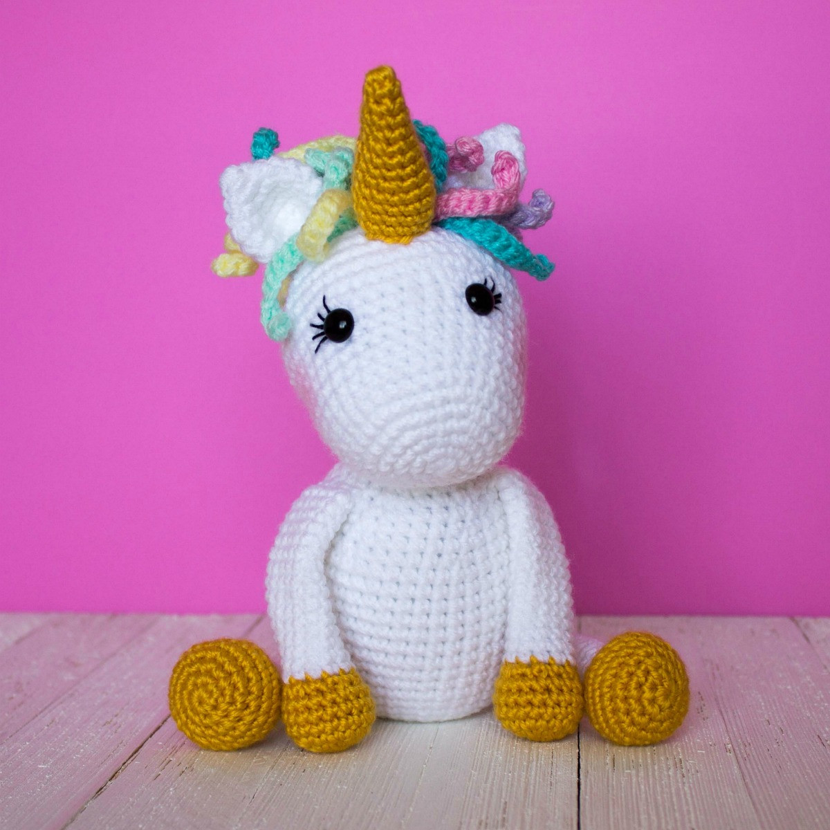 Free Unicorn Crochet Pattern Best Of Free Crochet Unicorn Pattern thefriendlyredfox Of Free Unicorn Crochet Pattern Unique Dada Neon Crochet Tiny Rainbow Unicorn Amigurumi by