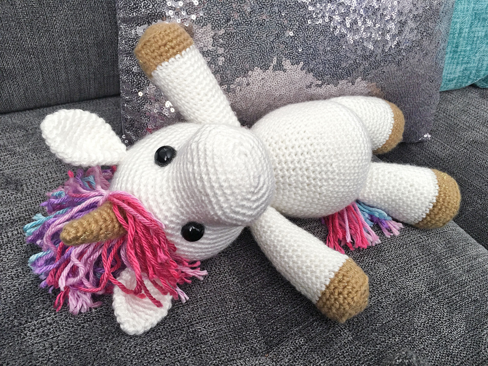 Free Unicorn Crochet Pattern Best Of Jazzy the Unicorn Free Amigurumi Pattern Of Free Unicorn Crochet Pattern Unique Dada Neon Crochet Tiny Rainbow Unicorn Amigurumi by