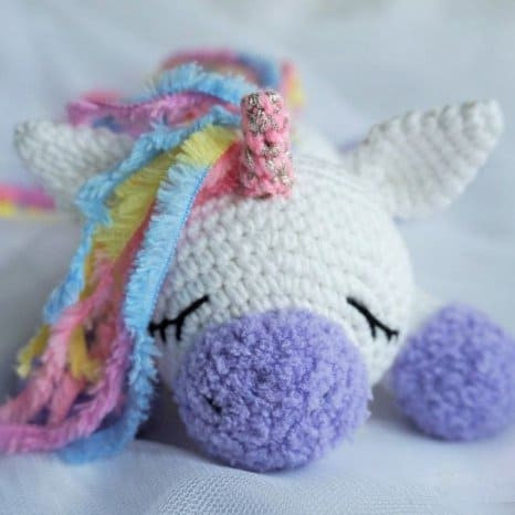 Free Unicorn Crochet Pattern Best Of Sleeping Unicorn Pony Crochet Pattern Amigurumi today Of Free Unicorn Crochet Pattern Beautiful Unicorn Crochet Pattern the Best Collection