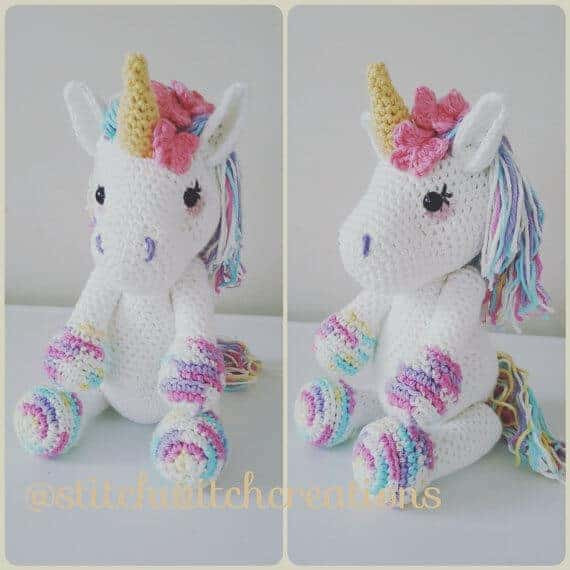 Free Unicorn Crochet Pattern Elegant Whimsical Diy Unicorn Ideas that Your Kids Will Love Of Free Unicorn Crochet Pattern Unique Dada Neon Crochet Tiny Rainbow Unicorn Amigurumi by