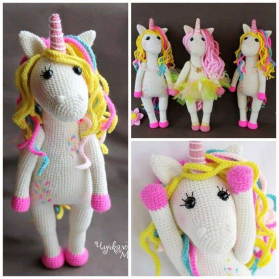 Free Unicorn Crochet Pattern Lovely Unicorn Crochet Pattern the Best Collection Of Free Unicorn Crochet Pattern Unique Dada Neon Crochet Tiny Rainbow Unicorn Amigurumi by