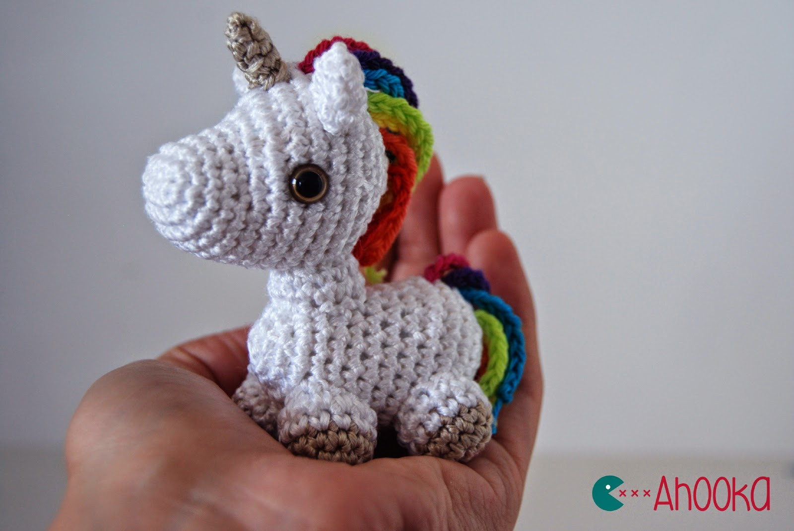 Free Unicorn Crochet Pattern Unique Dada Neon Crochet Tiny Rainbow Unicorn Amigurumi by Of Free Unicorn Crochet Pattern Unique Dada Neon Crochet Tiny Rainbow Unicorn Amigurumi by