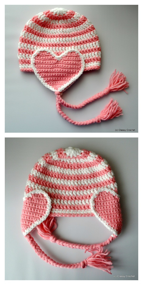 Free Valentine Crochet Patterns Awesome Adorable Crochet Heart Hat Free Patterns Of Perfect 46 Ideas Free Valentine Crochet Patterns