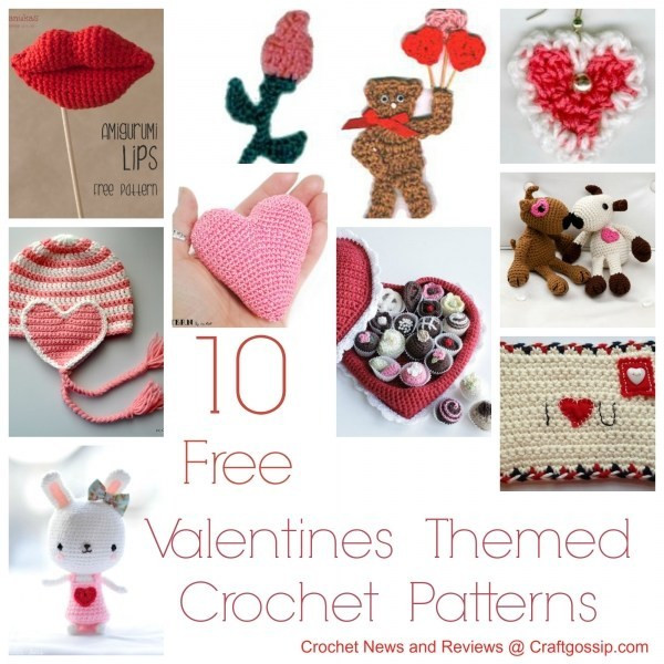 Free Valentine Crochet Patterns Awesome Free Patterns – 10 Valentine's Day Crochet Patterns – Crochet Of Perfect 46 Ideas Free Valentine Crochet Patterns