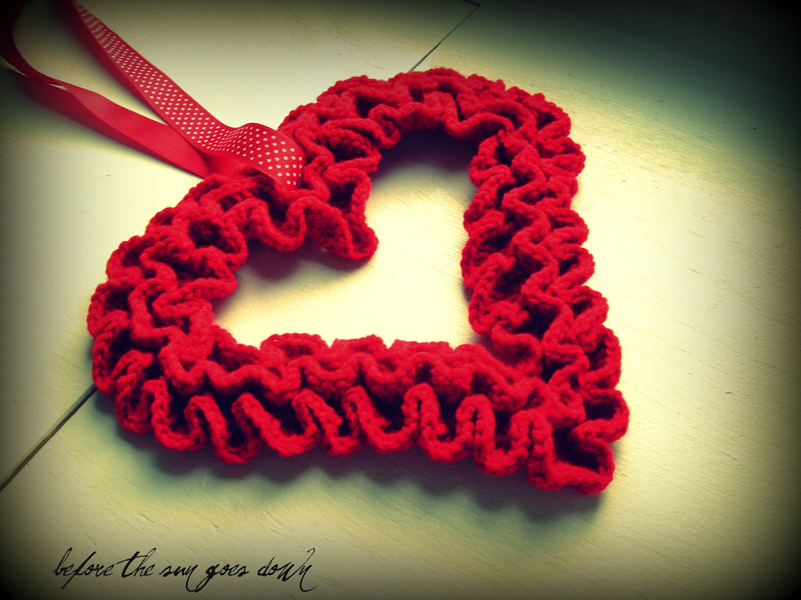 Free Valentine Crochet Patterns New Would You Like Yarn with that Crochet Ruffle Valentine Of Perfect 46 Ideas Free Valentine Crochet Patterns
