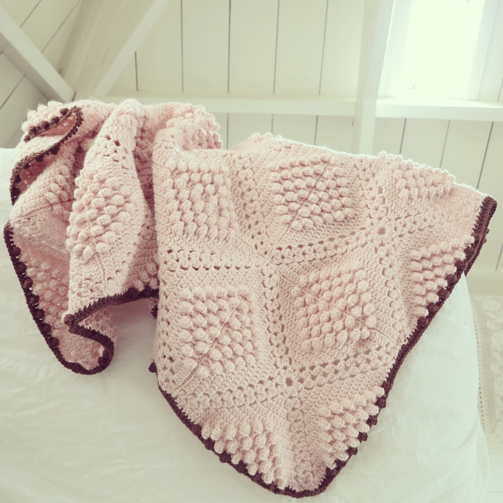 Fresh 10 Free Crochet Patterns & Tutorials for Baby Blankets Popcorn Stitch Crochet Patterns Of Best Of How to Crochet Lazy Popcorn Stitch No Removing Your Hook Popcorn Stitch Crochet Patterns