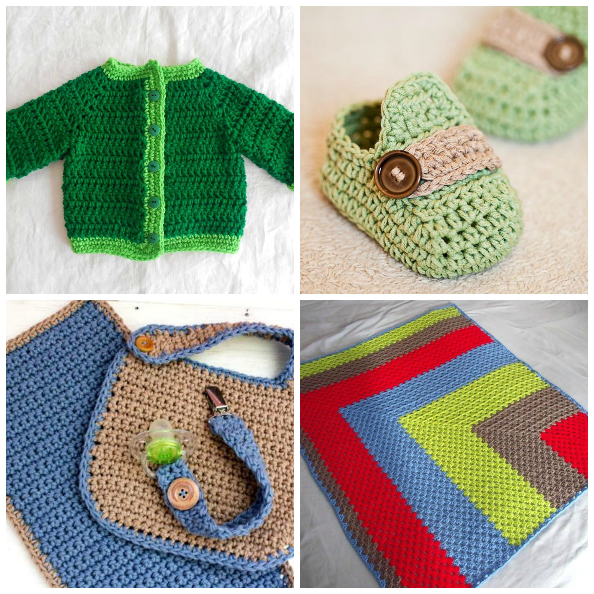 Fresh 10 Free Crochet Patterns for Baby Boys the Craftsy Blog Crochet for Baby Of New 46 Pictures Crochet for Baby