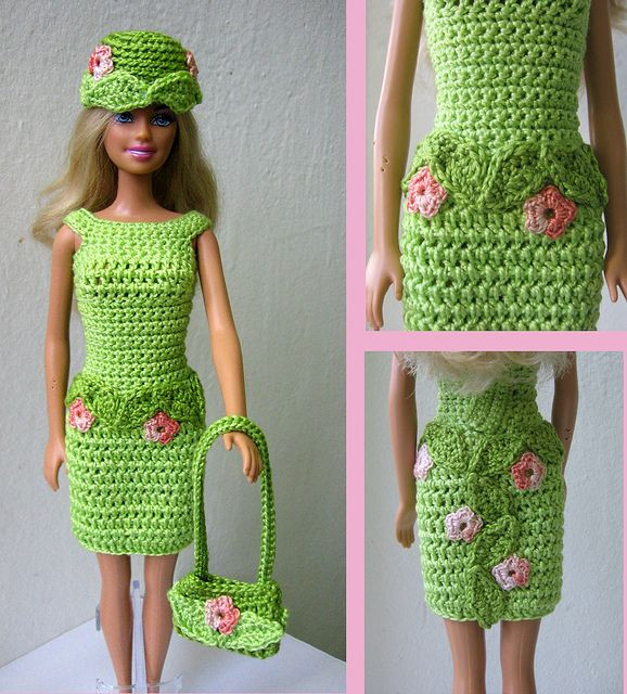 Fresh 1000 Images About Barbie & Ken Doll Clothes and Patterns Crochet Barbie Clothes Of Marvelous 46 Photos Crochet Barbie Clothes