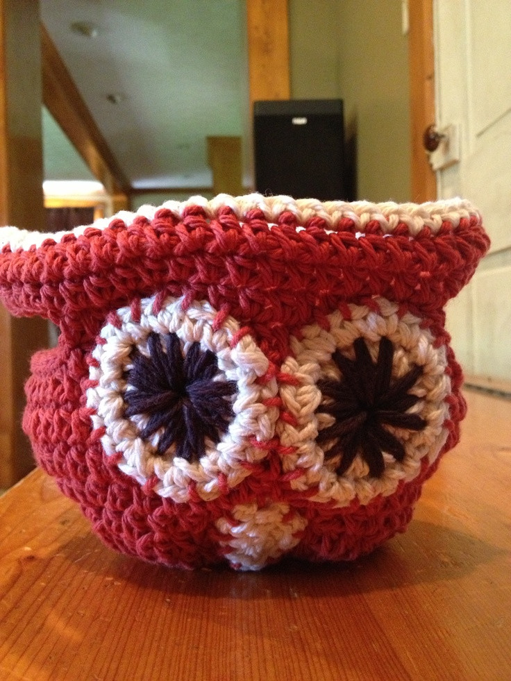 Fresh 1000 Images About Baskets On Pinterest Crochet Owl Basket Of Brilliant 47 Photos Crochet Owl Basket