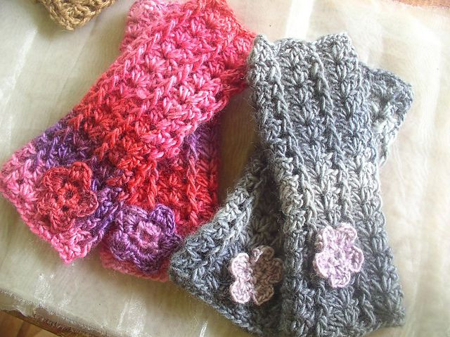 1000 images about C Crochet fingerless mittens on