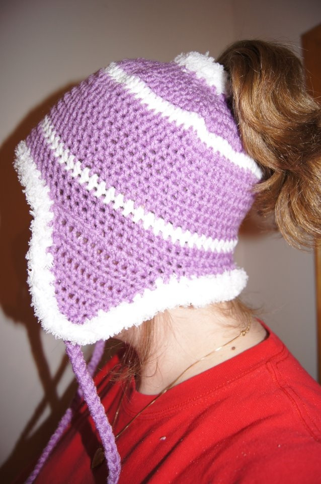 Fresh 1000 Images About Crochet Ponytail Hat On Pinterest Crochet Hat with Ponytail Hole Of Attractive 47 Pics Crochet Hat with Ponytail Hole