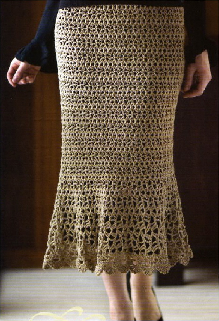 Fresh 1000 Images About Crocheted & Knitted Skirts Free Crochet Skirt Pattern Free Of Unique 42 Ideas Crochet Skirt Pattern Free