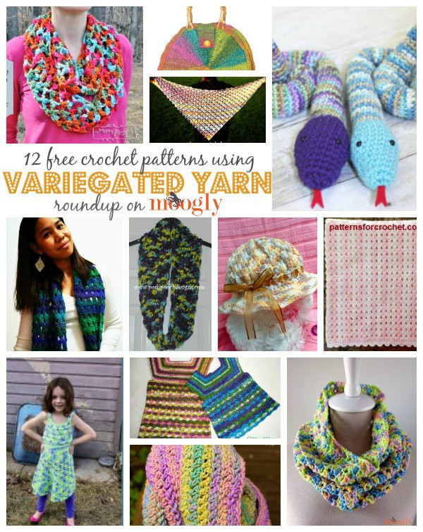 Fresh 12 Free Crochet Patterns Using Variegated Yarn Variegated Yarn Crochet Patterns Of Attractive 44 Ideas Variegated Yarn Crochet Patterns