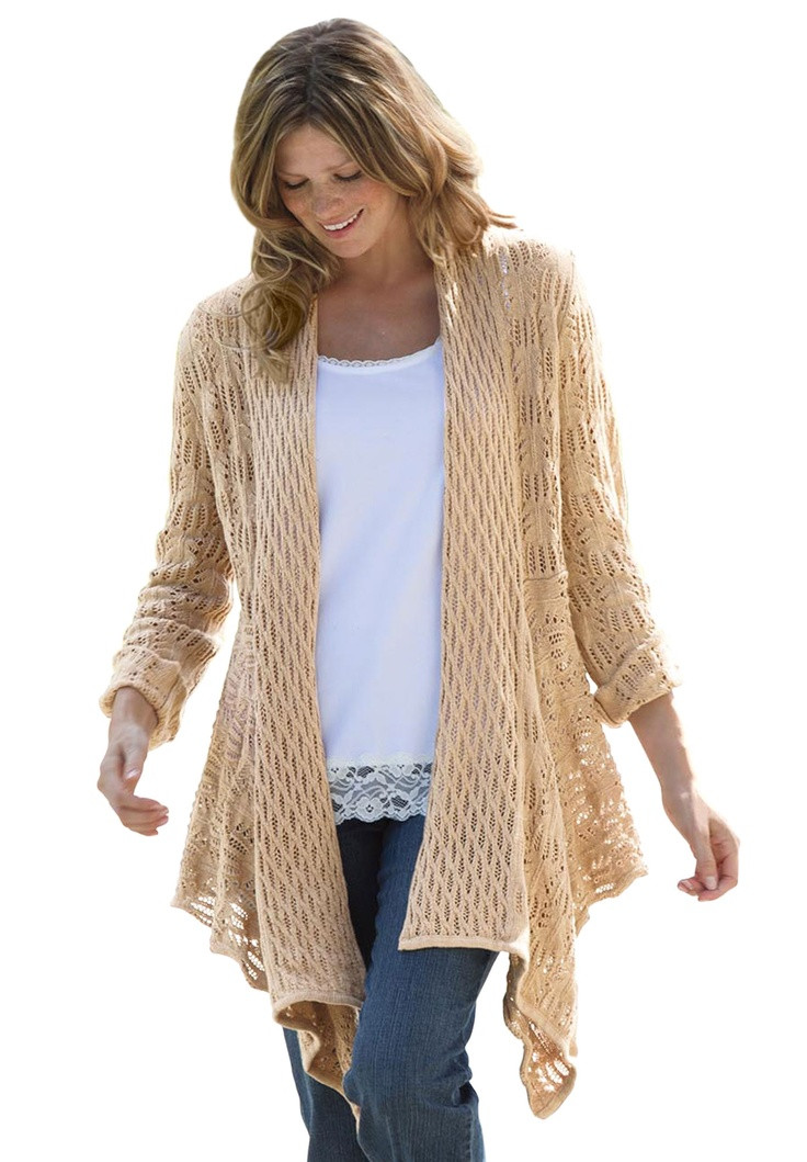 Fresh 128 Best Images About Crocheted Vests On Pinterest Plus Size Crochet Cardigan Of Delightful 41 Models Plus Size Crochet Cardigan