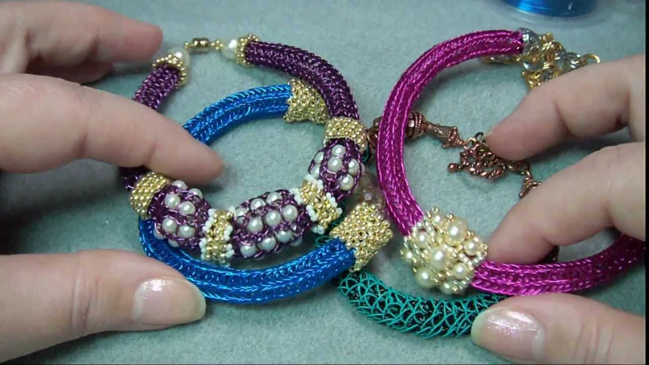 Fresh 15 Helpful Beaded Knitting Tutorials Knitted Bracelet Of Brilliant 50 Models Knitted Bracelet