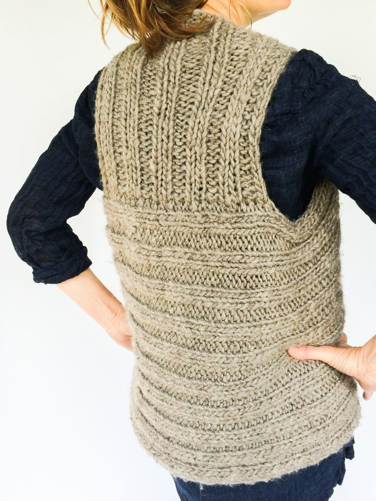 Fresh 16 Best Images About Knitterly Patterns On Pinterest Knitted Vest Of Great 48 Pics Knitted Vest