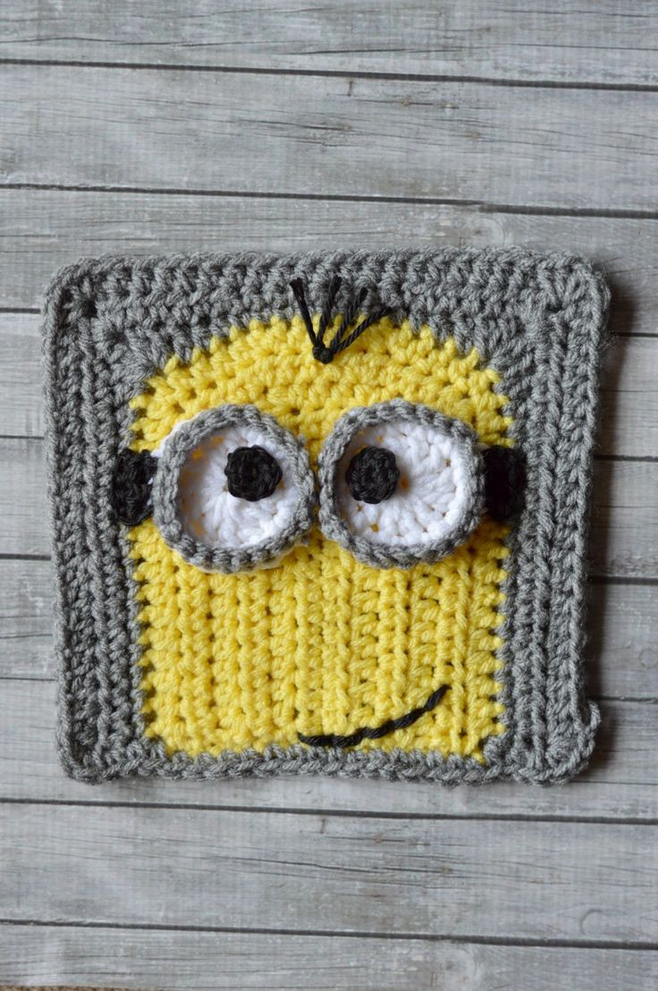 Fresh 17 Best Images About Afghan Squares On Pinterest Free Minion Crochet Pattern Of Marvelous 44 Images Free Minion Crochet Pattern