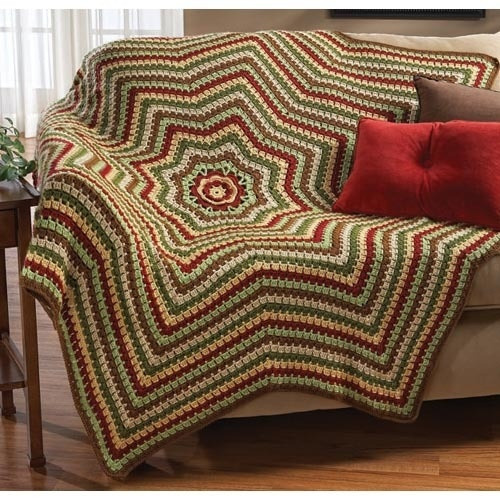 Fresh 17 Best Images About Afghans Round Ripple 8 Point Round Afghan Crochet Pattern Of Great 44 Photos Round Afghan Crochet Pattern